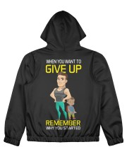 DO NOT GIVE UP MOTIVATION Women's All Over Print Full Zip Hoodie thumbnail