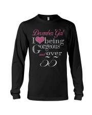 December Girl Gorgeous And Over 55 Long Sleeve Tee thumbnail