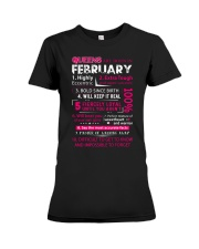 February Queens - Special Edition Premium Fit Ladies Tee thumbnail