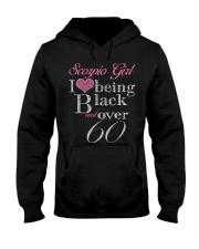 Scorpio Girl Hooded Sweatshirt thumbnail