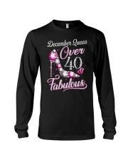 December Queen Over 40 Fabulous Long Sleeve Tee thumbnail