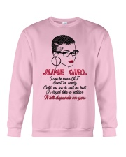 June Girl Crewneck Sweatshirt thumbnail