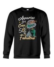 Aquarius Girl Fabulous And Over 50  Crewneck Sweatshirt thumbnail