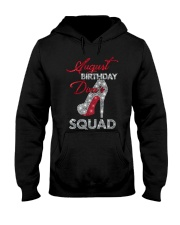 August Birthday Diva's Squad Hooded Sweatshirt thumbnail