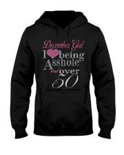 December Girl Over 50 Hooded Sweatshirt thumbnail