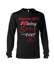Aquarius Girl Sexy And Over 30 Long Sleeve Tee thumbnail