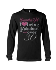 December Girl Fabulous And Over 30 Long Sleeve Tee thumbnail