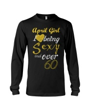 April Girl Sexy And Over 60 Long Sleeve Tee thumbnail