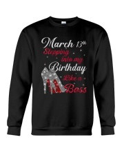 March 13th Crewneck Sweatshirt thumbnail