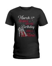 March 13th Ladies T-Shirt thumbnail