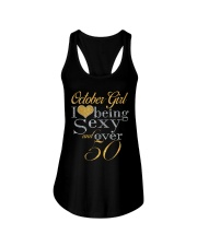 October Girl Sexy And Over 50 Ladies Flowy Tank thumbnail
