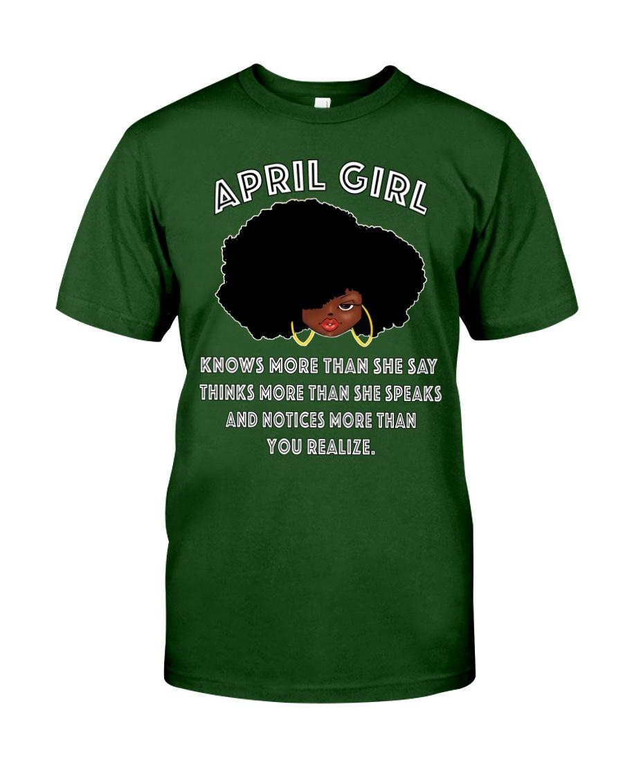 April Girl Classic T-Shirt