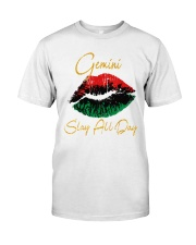 Gemini Slay All Day Classic T-Shirt front