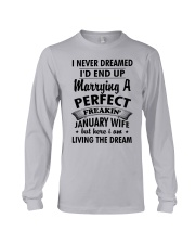 Perfect Freakin January Wife Long Sleeve Tee thumbnail