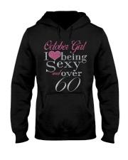 October Girl Over 60 Hooded Sweatshirt thumbnail