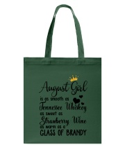 August Girl As A Glass Of Brandy Tote Bag thumbnail