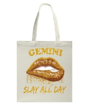Gemini Slay All Day Tote Bag thumbnail