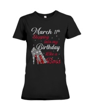 March 11th Premium Fit Ladies Tee thumbnail