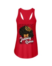 January Queen Ladies Flowy Tank front
