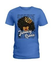 January Queen Ladies T-Shirt thumbnail