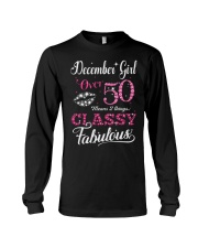 December Girl Over 50 Long Sleeve Tee thumbnail