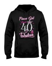 Pisces Girl Fabulous And Over 40 Hooded Sweatshirt thumbnail