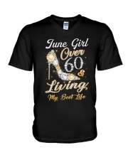 June Girl - Special Edition V-Neck T-Shirt thumbnail