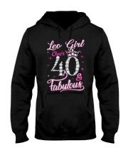 Leo Girl Fabulous And Over 40 Hooded Sweatshirt thumbnail