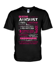 August Queens - Special Edition V-Neck T-Shirt thumbnail