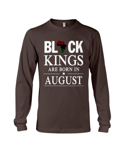 black kings are born in August