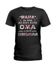 Oma Zu Sein Ist Unbezahlbar Ladies T-Shirt thumbnail