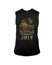 Black Kings Are Born In July Sleeveless Tee thumbnail