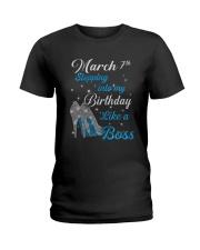 March 7th Ladies T-Shirt thumbnail