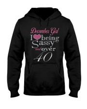 December Girl Over 40 Hooded Sweatshirt thumbnail