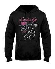 November Girl Over 60 Hooded Sweatshirt thumbnail