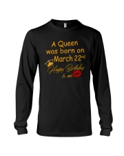 March 22nd Long Sleeve Tee thumbnail