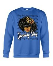 January slay Crewneck Sweatshirt thumbnail