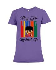 May Girl Living My Best Life Premium Fit Ladies Tee thumbnail