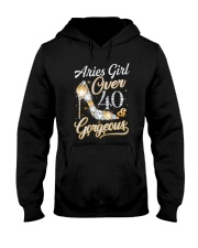 Aries Girl Gorgeous And Over 40 Hooded Sweatshirt thumbnail