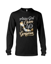 Aries Girl Gorgeous And Over 40 Long Sleeve Tee thumbnail