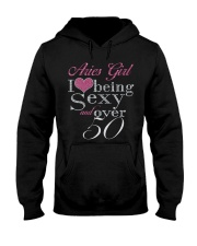 Aries Girl Over 50 Hooded Sweatshirt thumbnail