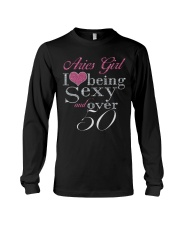 Aries Girl Over 50 Long Sleeve Tee thumbnail