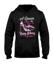 A Queen Was Born As Sagittarius Hooded Sweatshirt front