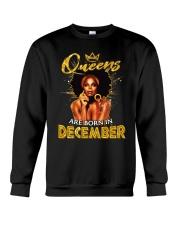 Queens Are Born In December Crewneck Sweatshirt thumbnail