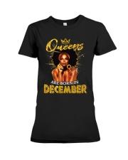 Queens Are Born In December Premium Fit Ladies Tee thumbnail