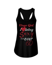 Virgo Sexy And Over 60 Ladies Flowy Tank thumbnail