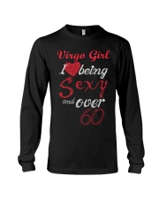Virgo Sexy And Over 60 Long Sleeve Tee thumbnail