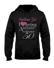 Sagittarius Girl Over 50 Hooded Sweatshirt thumbnail