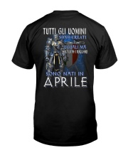 Aprile Classic T-Shirt back