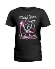 March Queen Fabulous And Over 60 Ladies T-Shirt thumbnail